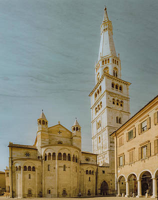 Photograph - Modena, Italy - Modena Cathedral by Mark Forte