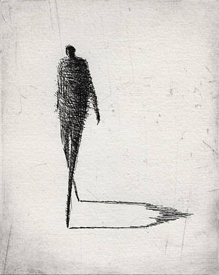 Figure Mixed Media - Moderate by Valdas Misevicius