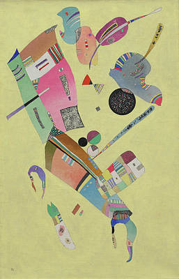 Curvature Painting - Moderation by Wassily Kandinsky