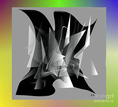 Digital Art - Modern 101 by Iris Gelbart