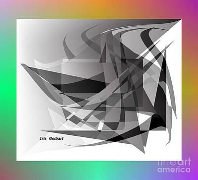 Digital Art - Modern 102 by Iris Gelbart