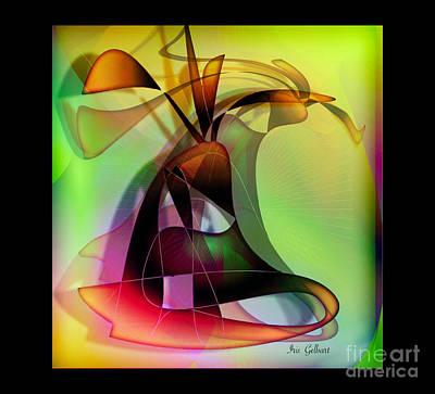 Digital Art - Modern 107 by Iris Gelbart