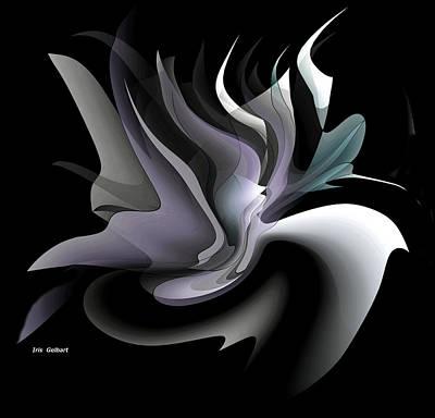 Digital Art - Modern #110 B by Iris Gelbart