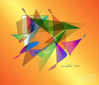Digital Art - Modern 2800 by Iris Gelbart