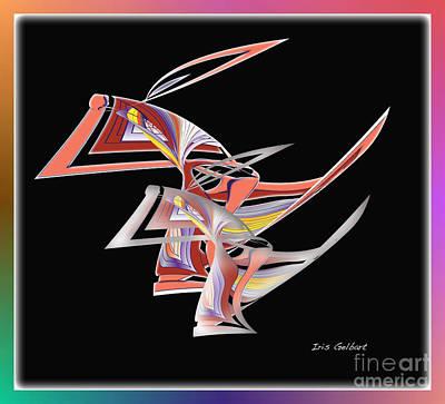 Digital Art - Modern 79 by Iris Gelbart