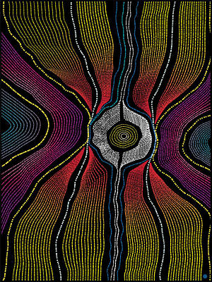 Digital Art - Modern Aboriginal 1 by Gary Grayson