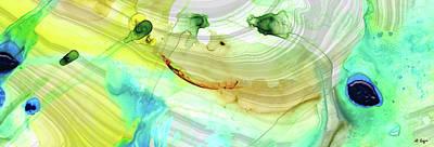 Painting - Modern Abstract Art - Seeing Is Believing - Sharon Cummings by Sharon Cummings