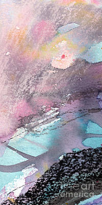 Painting - Modern Abstract Organic Allure 1 by Ginette Callaway