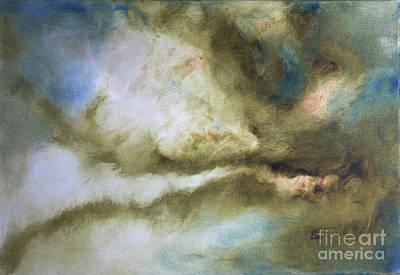 Modern Abstract Painting Sky Art Print