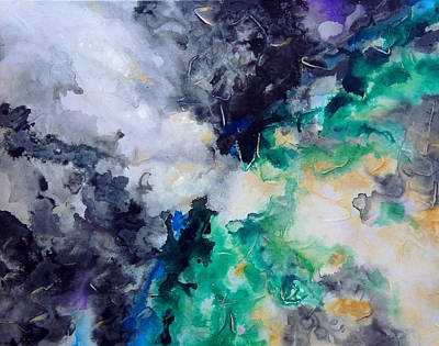 Painting - Modern Abstract by Shiela Gosselin