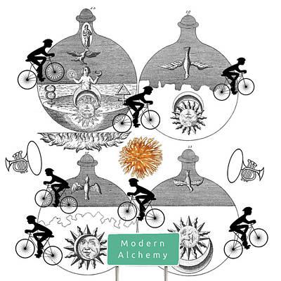 Modern Alchemy Art Print