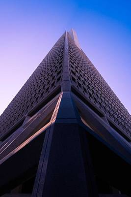 Abstract Skyline Rights Managed Images - Modern Architectural Building Series - Transamerica Pyramid, San Francisco, United States Royalty-Free Image by Celestial Images