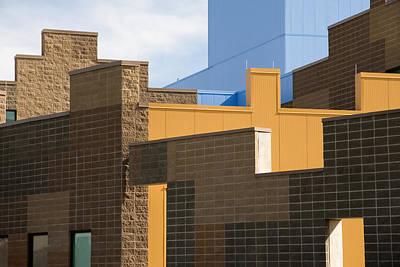 Modern Architecture 2 Art Print by Steve Ohlsen
