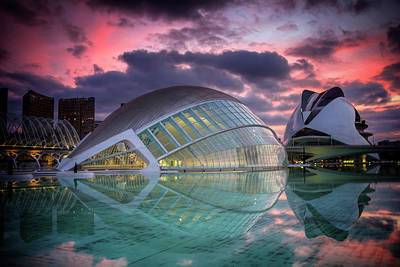 Modern Architecture In Valencia  Art Print