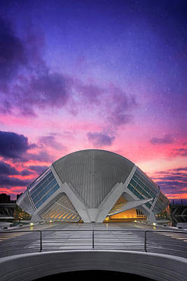 Photograph - Modern Architecture Of Valencia Spain  by Carol Japp