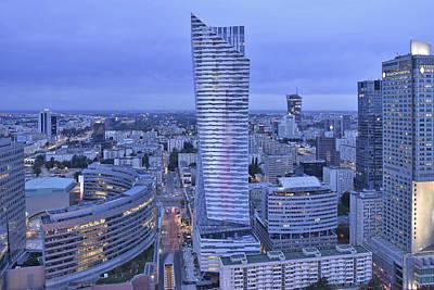 Photograph - Modern Architecture Warsaw Poland by Marek Stepan