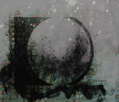 Digital Art - Modern Art Series 1 #3 Winter Snow by Lenore Senior