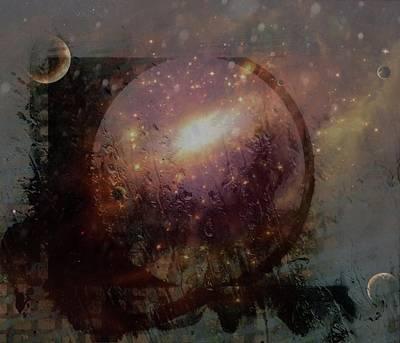 Digital Art - Modern Art Series 1 #4 Space by Lenore Senior
