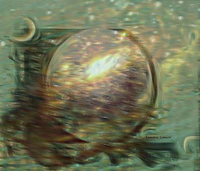 Digital Art - Modern Art Series 1 #5 Van Gogh by Lenore Senior