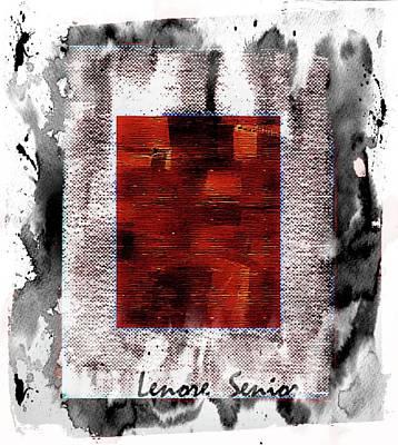 Mixed Media - Modern Art Series 2 #2 by Lenore Senior