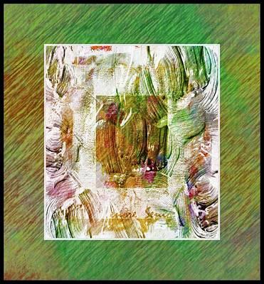 Mixed Media - Modern Art Series 2 #3 by Lenore Senior