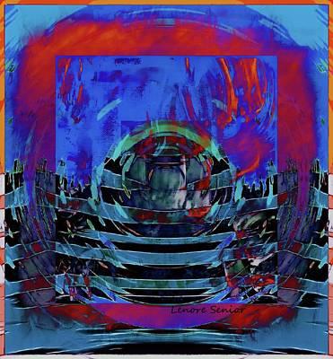 Mixed Media - Modern Art Series 2 #4 by Lenore Senior
