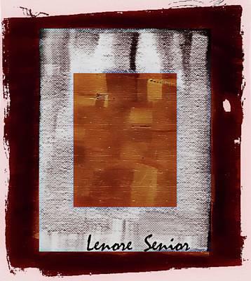 Mixed Media - Modern Art Series 2 by Lenore Senior