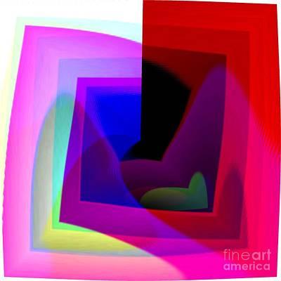 Digital Art - Modern Art by Yali Shi