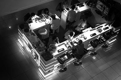 Photograph - Nail Bar From Space by John Williams