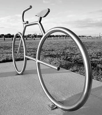 Photograph - Modern Bike by David Lee Thompson