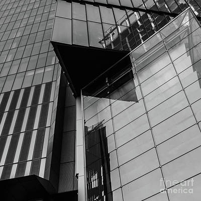 Photograph - Modern Buildings Nyc Abstract by Edward Fielding