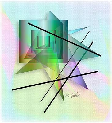 Digital Art - Modern Colours by Iris Gelbart