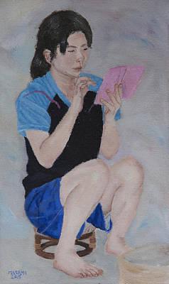 Painting - Modern Communication by Masami Iida