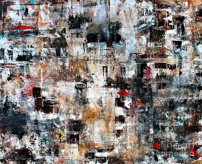 Painting - Modern Contemporary Abstract Art II by Pristine Cartera Turkus