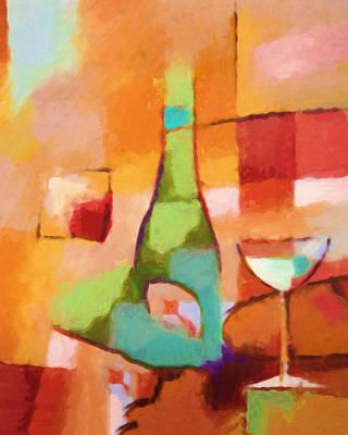 Painting - Modern Cuisine by Lutz Baar