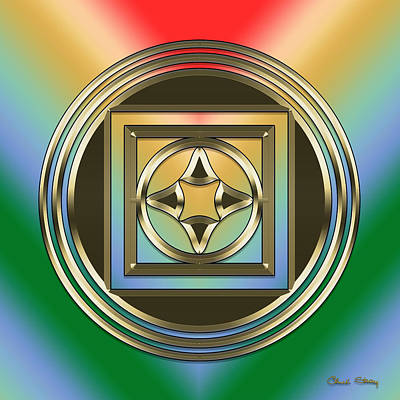 Digital Art - Modern Designs 3 by Chuck Staley