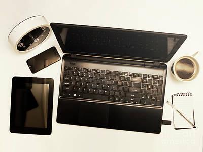 Photograph - Modern Desk Still Life by Jorgo Photography - Wall Art Gallery