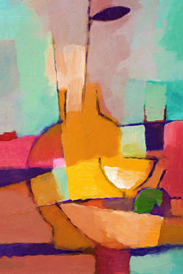 Painting - Modern Dining by Lutz Baar
