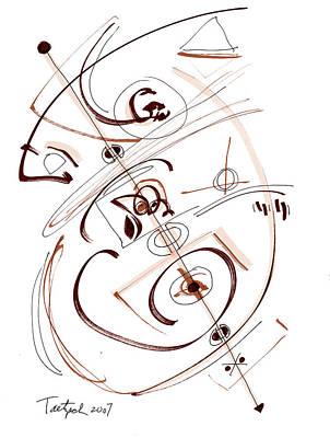 Modern Drawing Thirty-five Original