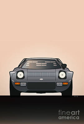 Modern Euro Icons Car Series Lancia Stratos Hf Tipo 829 Original