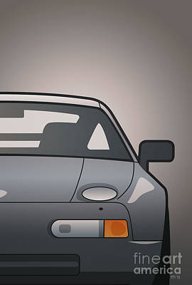 Modern Euro Icons Series Porsche 928 Gts Split Original by Monkey Crisis On Mars