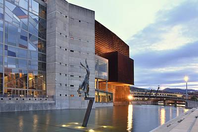 Modern Euskalduna Center Bilbao Art Print
