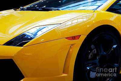 Expensive Photograph - Modern Fast Car Close-up Background by Michal Bednarek