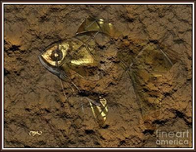 Modern Figurine Of Fish 103 Original by Pemaro