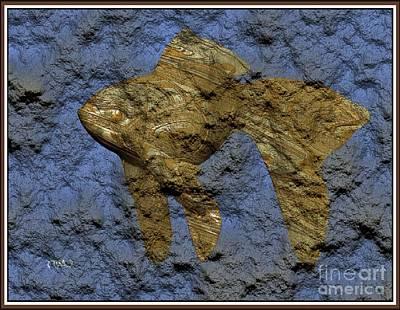 Modern Figurine Of Fish 106 Original by Pemaro