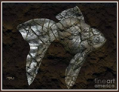 Modern Figurine Of Fish 109 Original by Pemaro