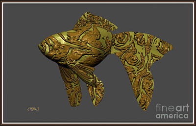 Modern Figurine Of Fish 33 Original by Pemaro