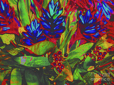 Painting - Modern Floral Painting by Merton Allen