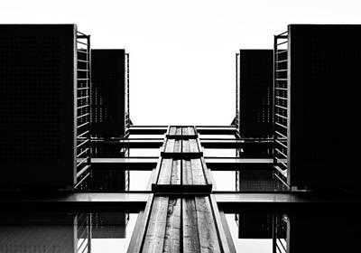 Photograph - Modern House Abstract by Marek Stepan