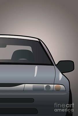 Modern Japanese Icons Subaru Alcyone Svx Split Original by Monkey Crisis On Mars